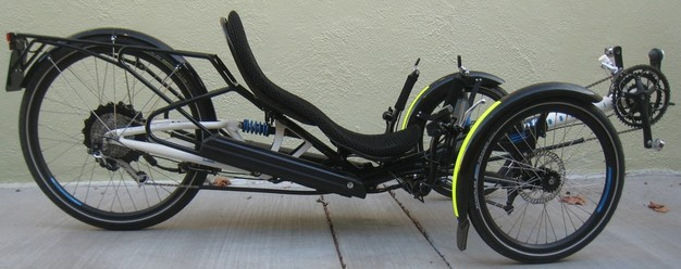 [photo: Scorpion recumbent tricycle]
